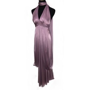 Gorgeous 70's disco party dress gown